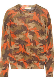 MICHAEL Michael Kors Camouflage-print knitted sweater