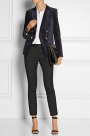 MICHAEL Michael Kors Double-breasted velvet blazer