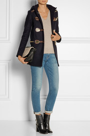 MICHAEL Michael Kors Hooded wool-blend duffle coat