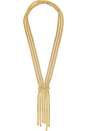 Rosantica Nefertiti gold-dipped necklace