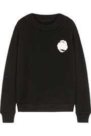 The Elder Statesman Bonsai intarsia cashmere sweater
