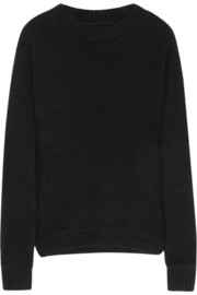 The Elder Statesman Cashmere-felt sweater