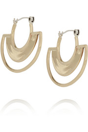 Pamela Love Sunset gold-plated earrings