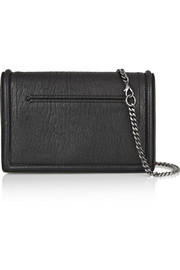 McQ Alexander McQueen Simple Fold two-tone leather shoulder bag