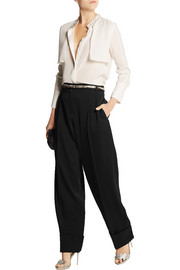 Alexander McQueen Wool wide-leg pants