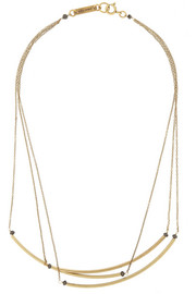 Isabel Marant Gold-tone and bead necklace