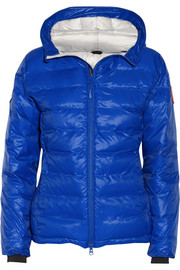PBI Camp Hoody quilted down coat
