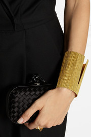 Vionnet High cutout gold-plated cuff