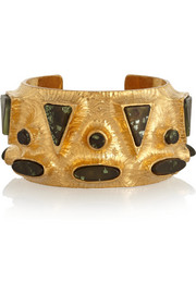 Vionnet Gold-plated resin cuff