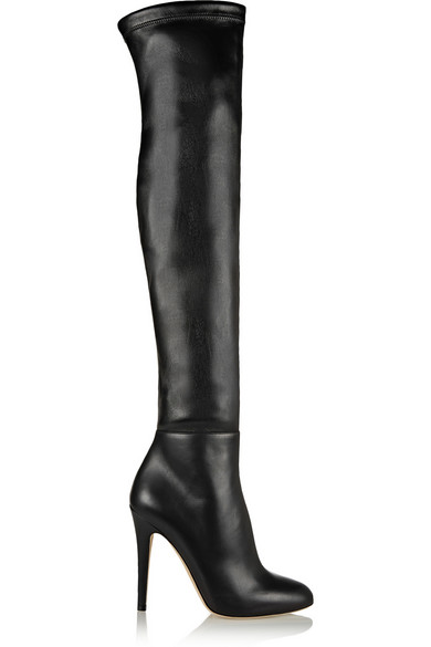547c3ea89f9 Jimmy Choo. Turner stretch-leather thigh boots