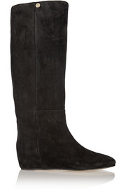 Jimmy Choo Olivia suede knee boots