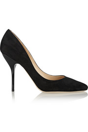Mitchel suede pumps