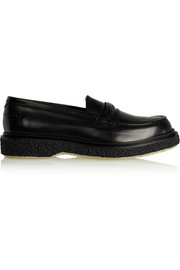 Adieu Type 29 glossed-leather loafers