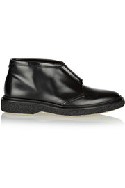 Type 3 leather ankle boots