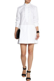 See by Chloé Ruffled cotton shirt dress