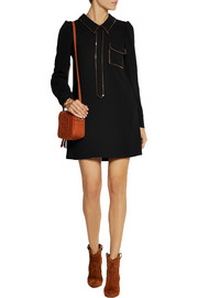 See by Chloé Sequin-embellished crepe dress