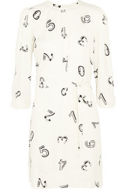 See by Chloé Printed crepe mini dress