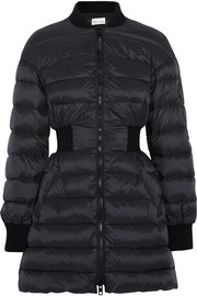 REDValentino Quilted shell coat