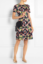 Erdem Armel floral-print stretch-jersey dress