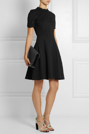 Erdem Armel lace-trimmed stretch-jersey crepe dress