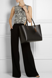 Marni Large faux leather tote