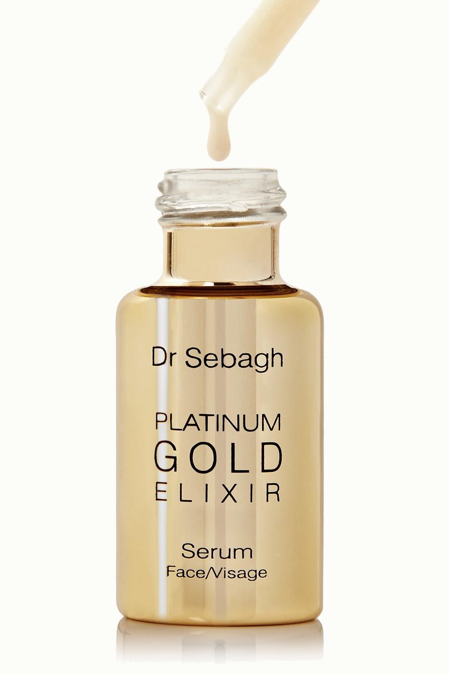 Dr Sebagh Platinum Gold Elixir, 4 x 10 ml – Set aus Seren