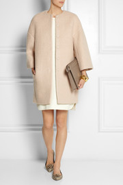 Giambattista Valli Felted cocoon coat