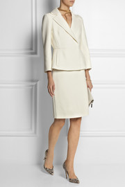 Giambattista Valli Stretch-twill pencil skirt