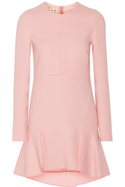 Marni Wool-crepe mini dress