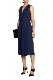 Marni Draped satin-crepe dress