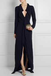 Marni Draped satin-crepe gown
