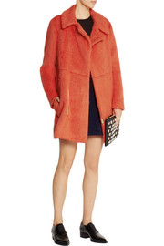 Marni Brushed wool and alpaca-blend coat