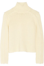 Marni Chunky-knit wool-blend turtleneck sweater