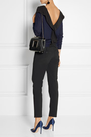 Marni Silk-trimmed fine-knit cashmere sweater