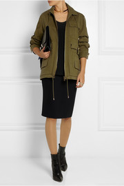 Balmain Stretch-cotton gabardine jacket
