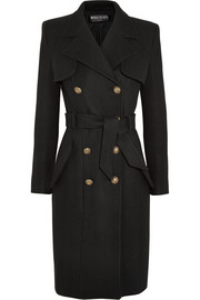 Balmain Double-breasted wool coat