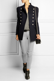 Pierre Balmain Double-breasted wool coat