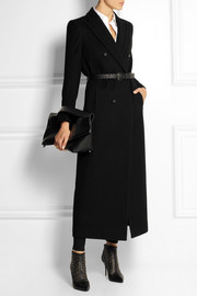 Pierre Balmain Double-breasted wool-blend coat