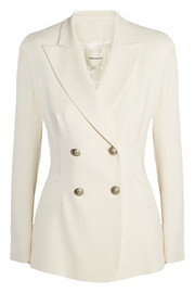 Pierre Balmain Double-breasted jersey blazer