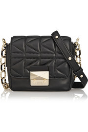 Karl Lagerfeld K/KUILTED small leather shoulder bag