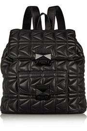 Karl Lagerfeld K/Kuilted quilted leather backpack