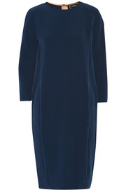 By Malene Birger Ilia textured stretch-crepe dress