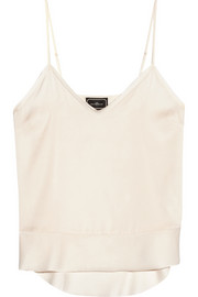 By Malene Birger Kirah stretch-silk camisole