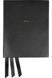 Smythson Portobello 2015 textured-leather diary