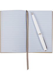 Smythson Existential Crisis textured-leather notebook