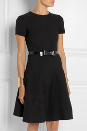 Alaïa Bow-embellished leather waist belt