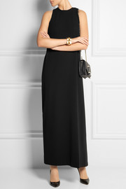 Calvin Klein Collection Wrap-around stretch-crepe maxi dress