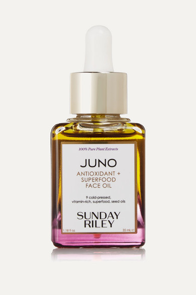 Juno Antioxidant + Superfood Face Oil 1.18 Oz/ 35 Ml in Colorless