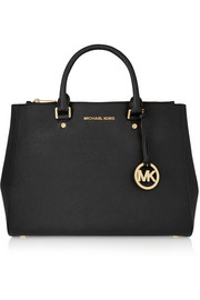 MICHAEL Michael Kors Sutton large textured-leather tote