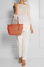 MICHAEL Michael Kors Jet Set textured-leather tote
